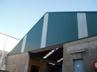A completed roof as installed by AGC Roof Maintenance