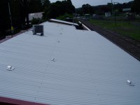 Safety anchor points installed by AGC Roof Maintenance